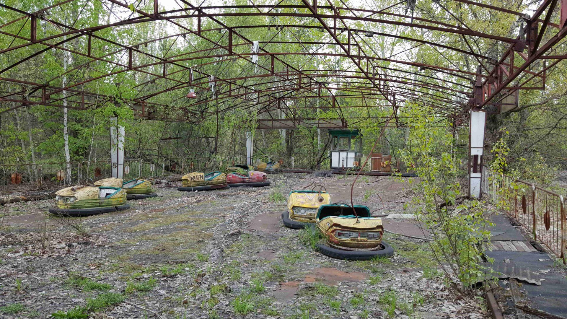 Chernobyl Pripyat Playground-min